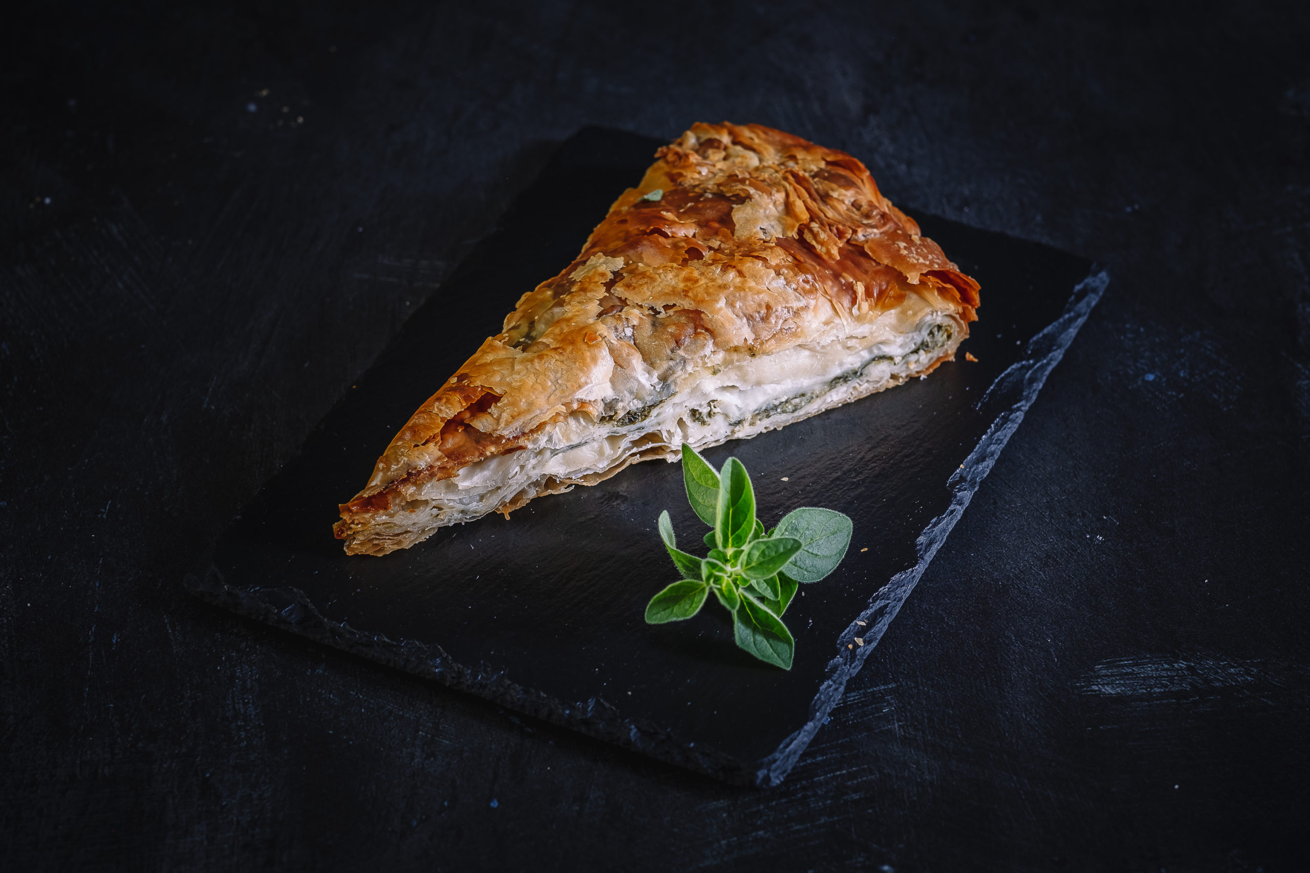 greek food spanakopita